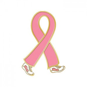 Pink Ribbon Lapel Pin